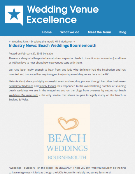 Wedding Venue Excellence Blog