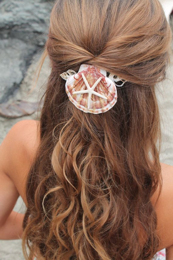 shell in hair
